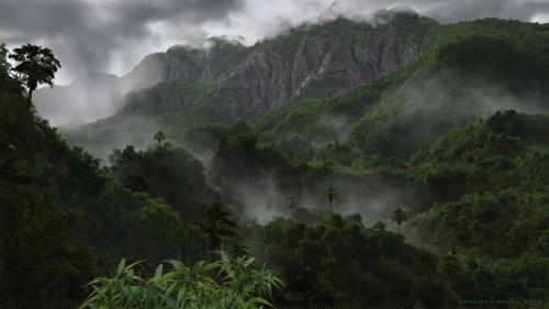 """""""Jungle"""" <small>By René van Megen</small>"""