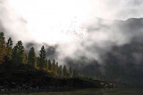 """Mystic Peak"" <small>By Danny Gordon</small>"