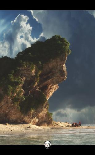 """Stranger Sea"" <small>By Alessandro Mancini</small>"