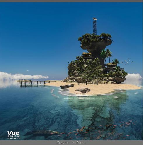 """""""Isola Tropicale"""" <small>By Renato Pilloni</small>"""
