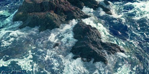 """Sea Rock"" <small>By René van Megen</small>"