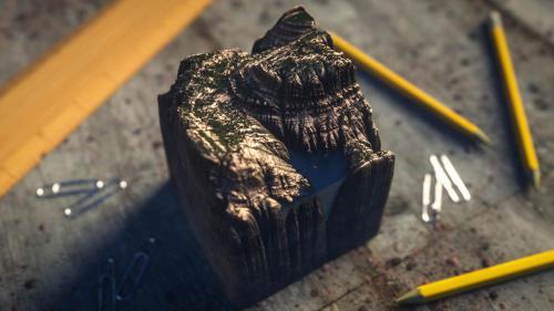 """Mini Cliff"" By Franck Doassans"